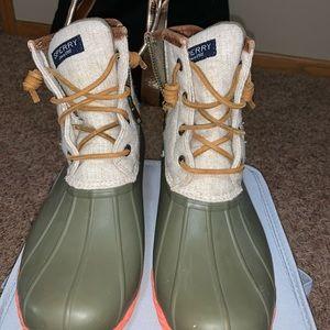 Sperry women's duck/rain boots